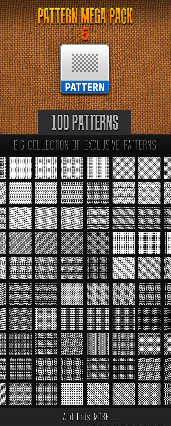 GraphicRiver 100 Mini Pattern Collection 5 11545978