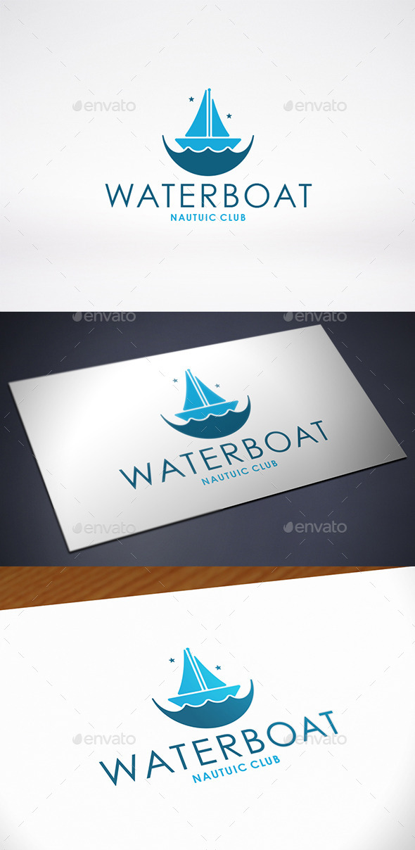 GraphicRiver Boat Logo Template 11546044