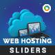 Web Hosting Sliders - 2 Designs - GraphicRiver Item for Sale