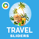 Travel Sliders - 2 Designs - GraphicRiver Item for Sale