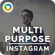 Multipurpose Instagram Templates - 10 Designs - GraphicRiver Item for Sale