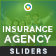 Insurance Agency Sliders - 3 Designs - GraphicRiver Item for Sale