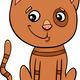 cat kitten cartoon illustration - PhotoDune Item for Sale