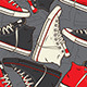 Classic Sneakers Seamless Pattern - GraphicRiver Item for Sale