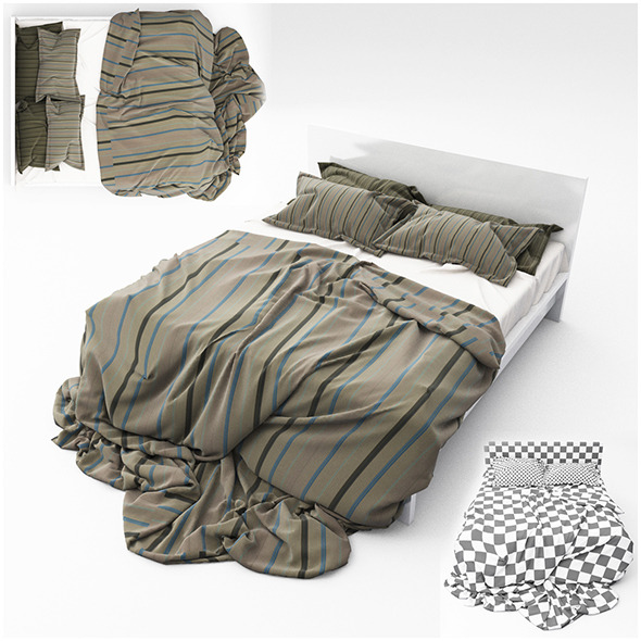 Bed 14 - 3DOcean Item for Sale