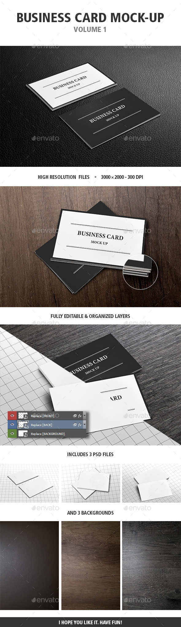 GraphicRiver Business Card Mock-Up Vol 1 11498739