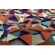 Abstract 3D Rendering Of Low Poly Colored Surface - GraphicRiver Item for Sale