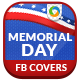 Memorial Day Sale Facebook Covers - 2 Designs - GraphicRiver Item for Sale