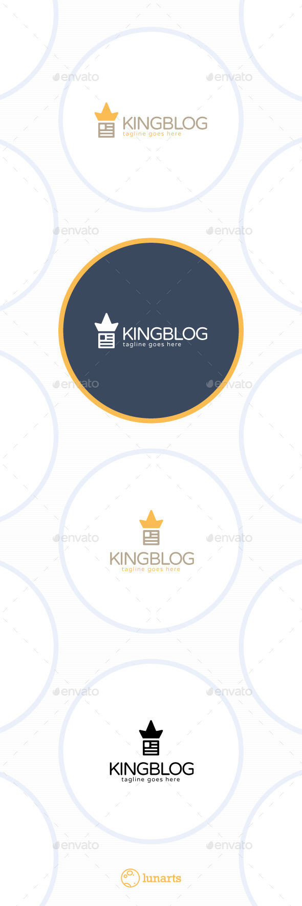 GraphicRiver King Blog Logo 11547496