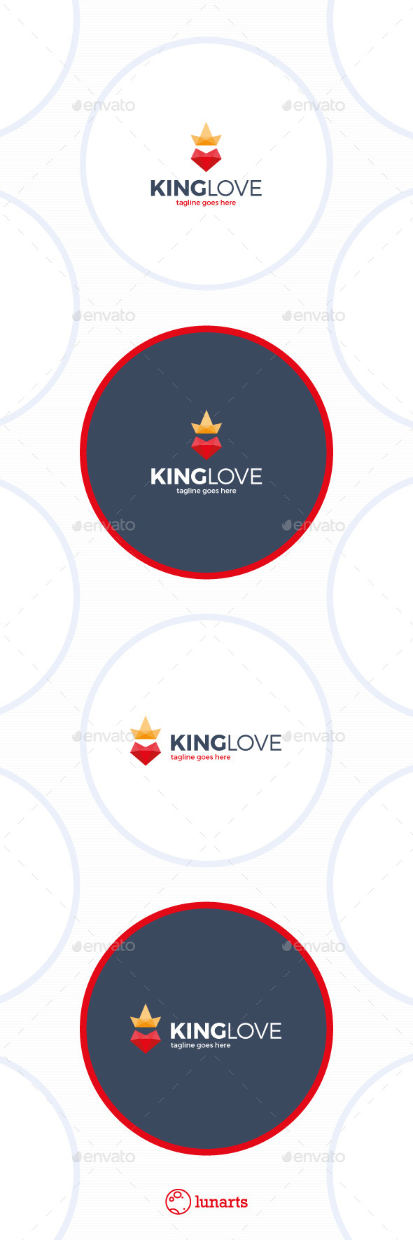 GraphicRiver King Love Logo 11547522