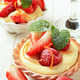 Dessert - Small custard tart with fresh fruit - PhotoDune Item for Sale
