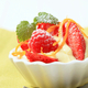Creamy pudding with fresh fruit - PhotoDune Item for Sale