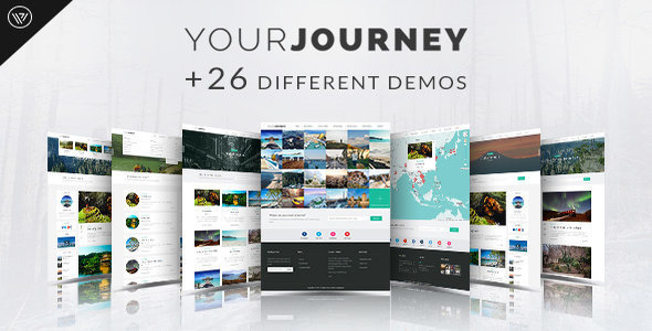 ThemeForest Your Journey WordPress Blog Travel Theme 11477970