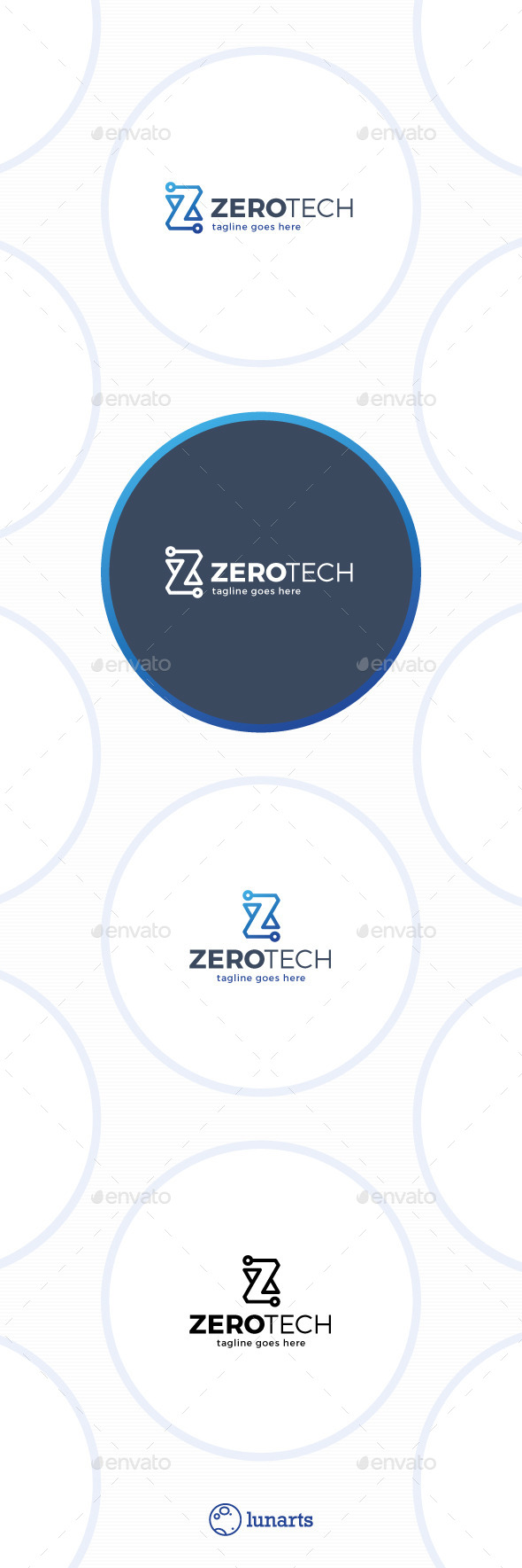 GraphicRiver Zero Technology Logo Letter Z 11547591