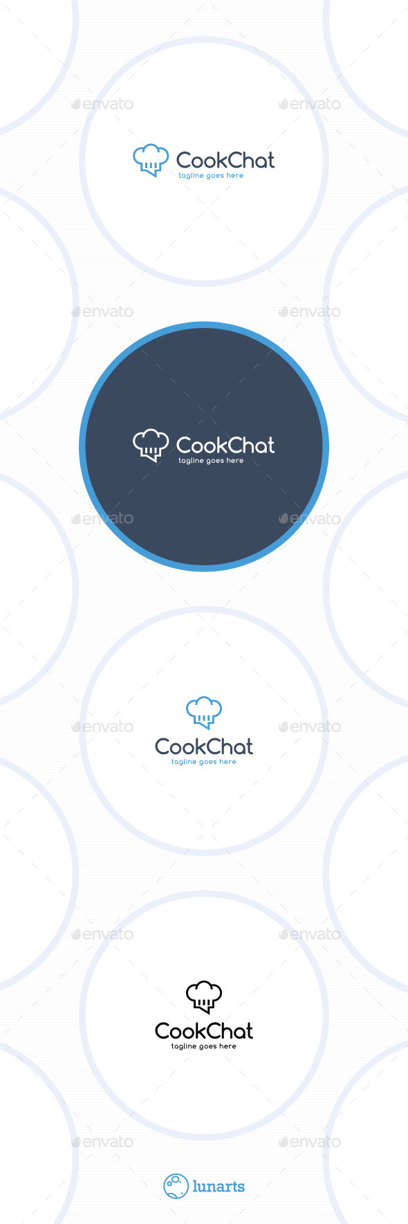 GraphicRiver Cook Chat Logo 11547599