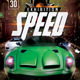 Speed Exhibiton Flyer Template - GraphicRiver Item for Sale
