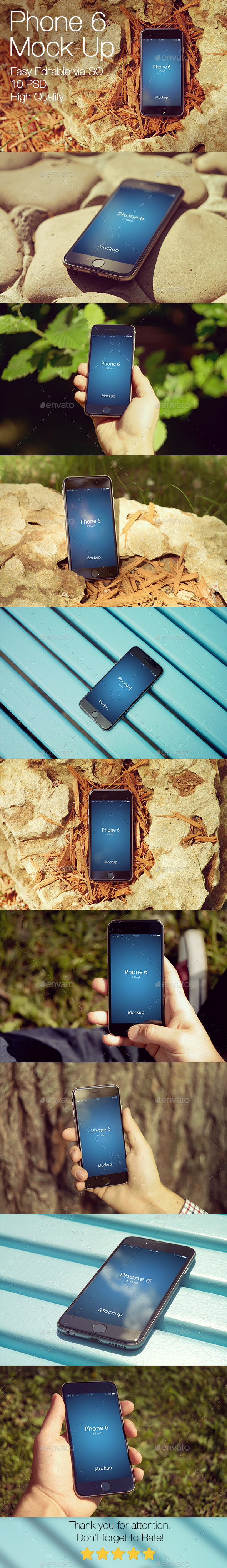 GraphicRiver Phone 6 Mockup v3 11547757