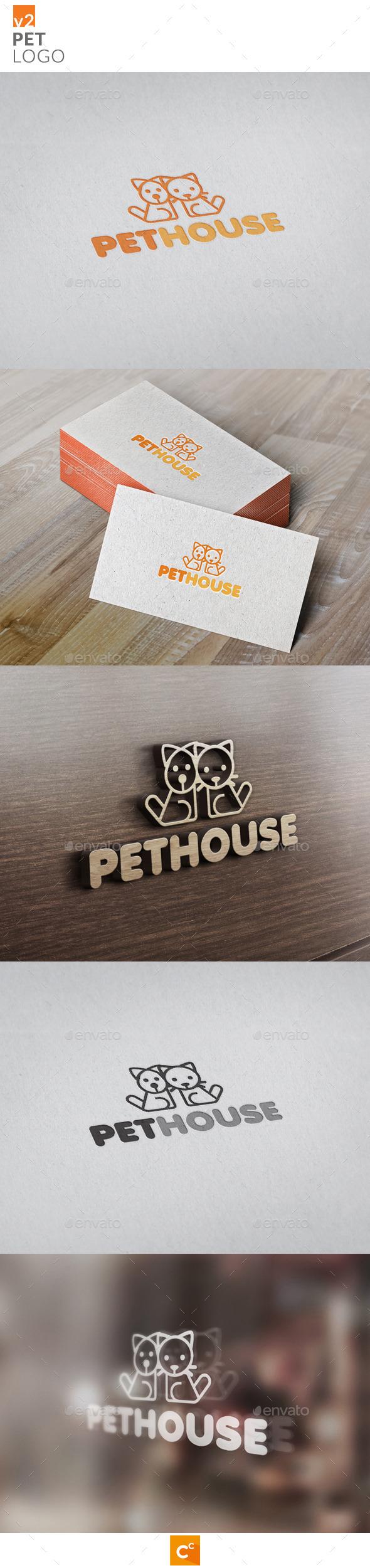 GraphicRiver Pets Logo v2 11547866