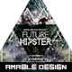Future Hipster Flyer - GraphicRiver Item for Sale