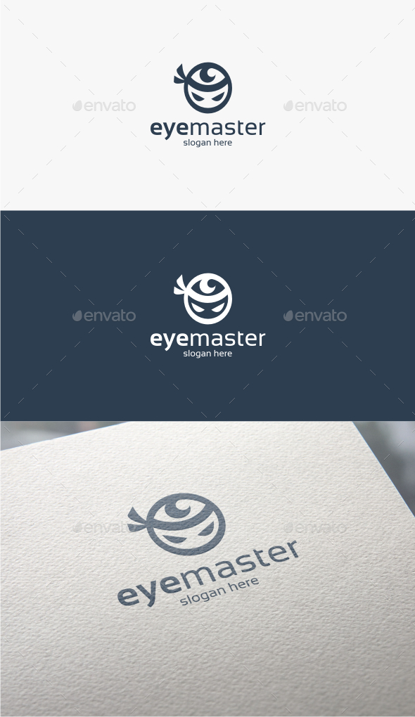 GraphicRiver Eye Master Logo Template 11547904