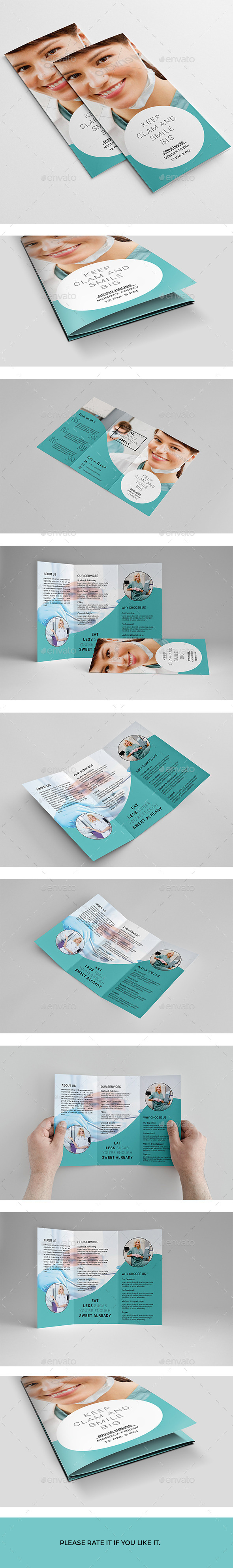 GraphicRiver Trifold Brochure 11547915