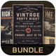 Retro Music Bundle vol 12 - GraphicRiver Item for Sale