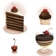 Chocolate Dessert Set - GraphicRiver Item for Sale