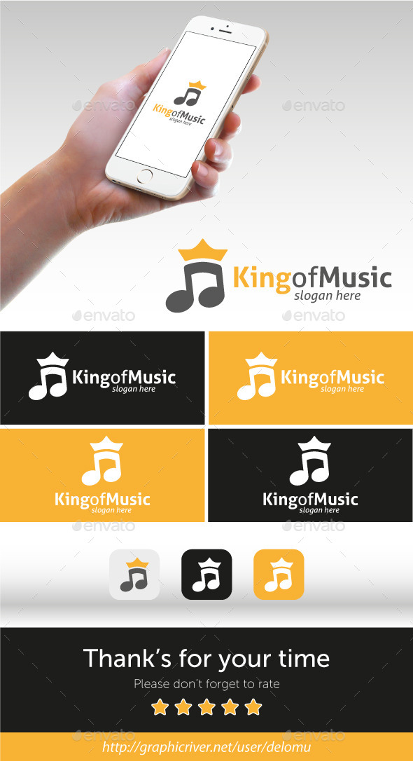 GraphicRiver King of Music 11548276