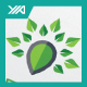 Green Spot - Nature Map - Eco Locator Logo - GraphicRiver Item for Sale
