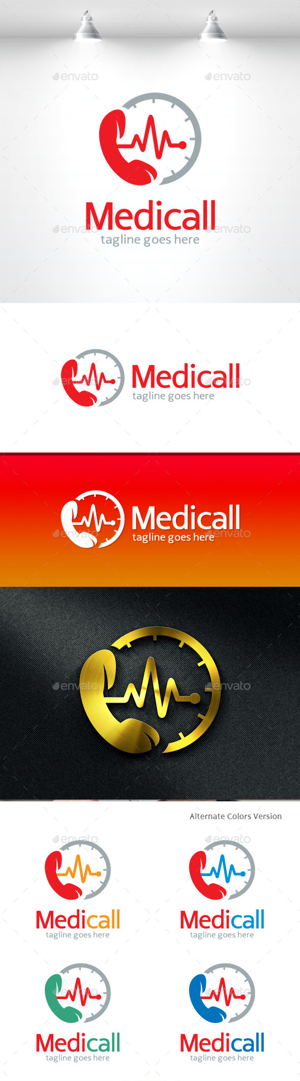 GraphicRiver Medic Call Logo 11548421