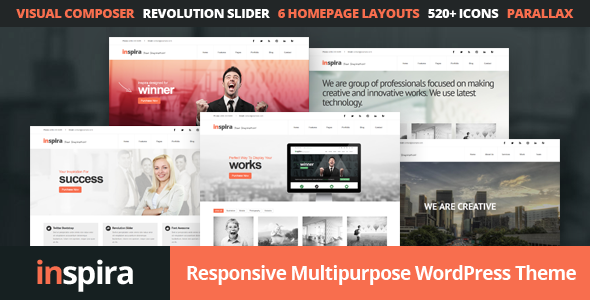 ThemeForest Inspira Responsive Multipurpose WordPress Theme 11458614