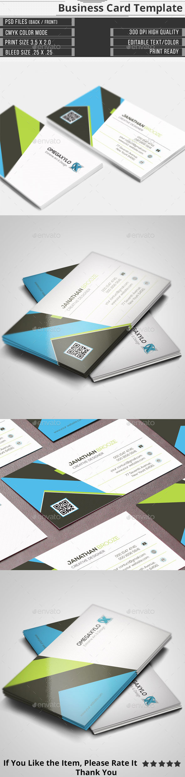 GraphicRiver Corporate Business Card 11548605