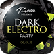 Dark Electro - Flyer Template - GraphicRiver Item for Sale