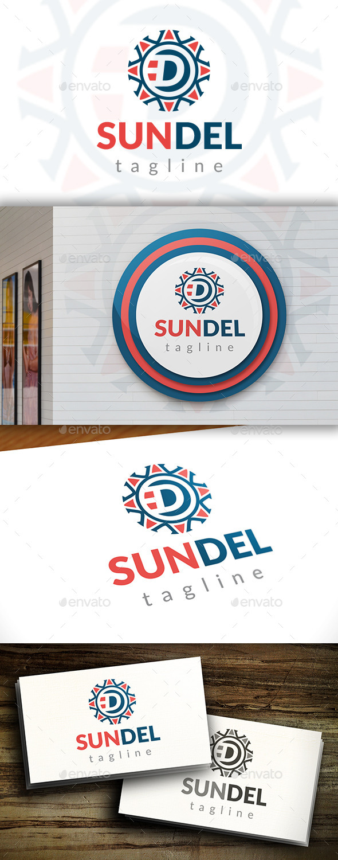 GraphicRiver Sun D Letter Logo 11548670