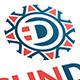 Sun D Letter Logo - GraphicRiver Item for Sale