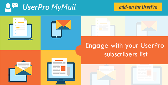 CodeCanyon MyMail Addon for UserPro 11548683