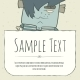 Doodle Cartoon Monster Greeteng Or Invitation - GraphicRiver Item for Sale