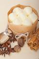 vanilla and spice cream cake dessert - PhotoDune Item for Sale