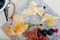 mix cold cut with fresh pears - PhotoDune Item for Sale