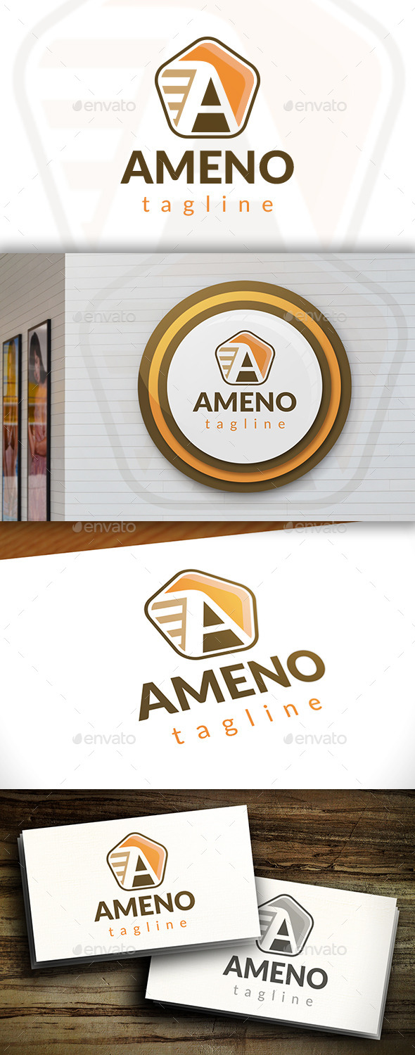 GraphicRiver Ameno Logo 11549346