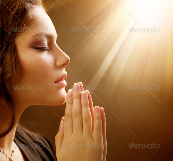 PhotoDune Praying Woman 1158900