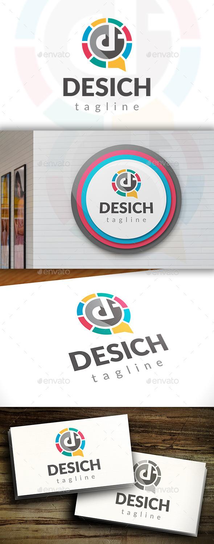 GraphicRiver Design Chat Logo 11549666