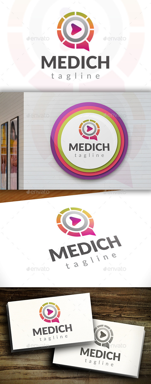 GraphicRiver Media Chat Logo 11549759