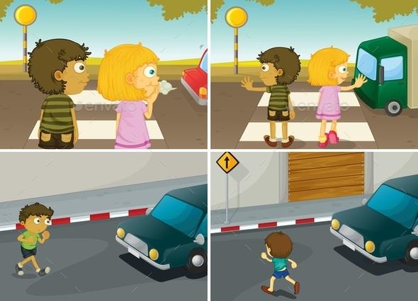 GraphicRiver Road Crossing 11549928