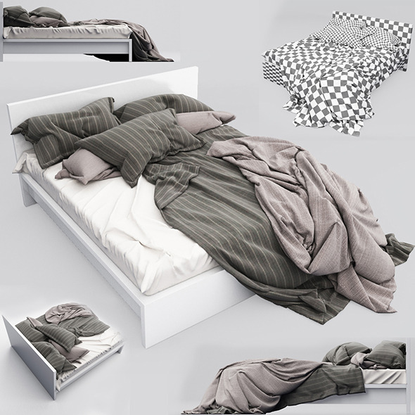 Bed 12 - 3DOcean Item for Sale