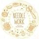 Needle Work Design - GraphicRiver Item for Sale