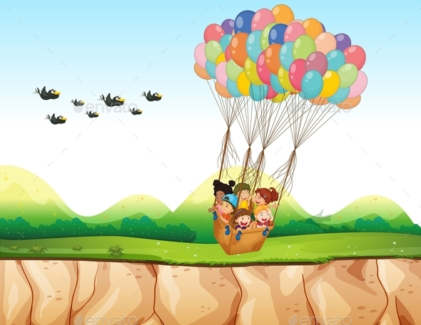 GraphicRiver Balloons 11550139