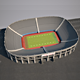 Low poly Stadium 1x2 size - 3DOcean Item for Sale