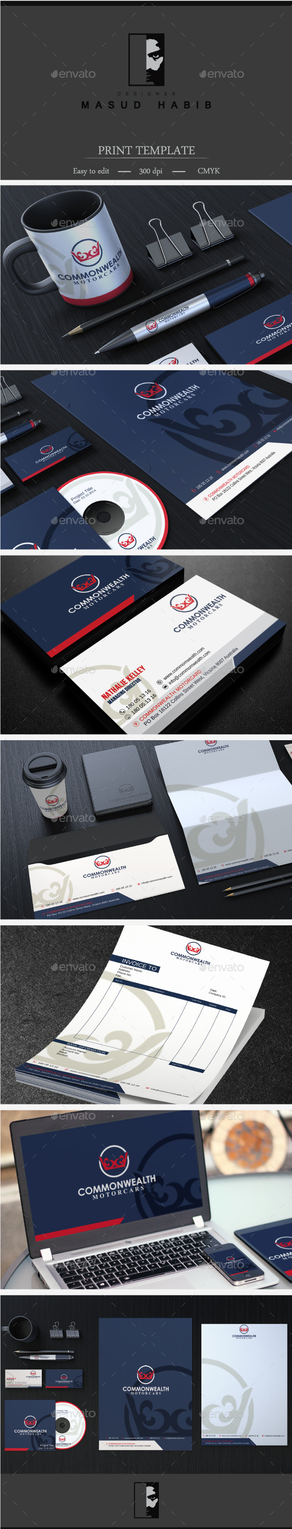 GraphicRiver Creative Corporate Identity 29 11447480