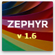 Zephyr | Material Design Theme - ThemeForest Item for Sale